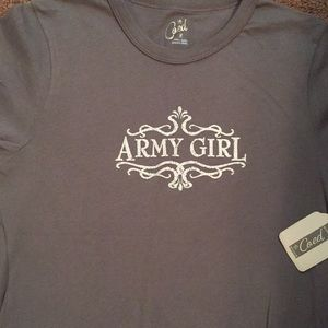 Army Girl top 😊